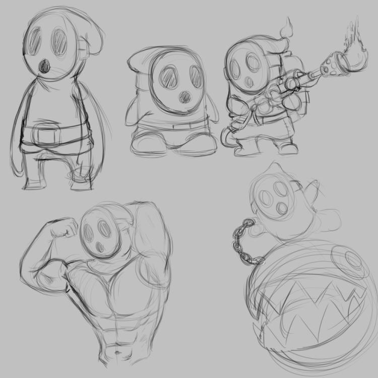 Shyguy Doodles