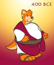 [Daily Draw - 12] Otter Through Time - 400 BCE