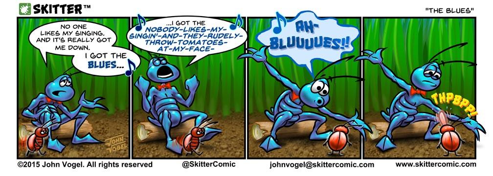 "SKITTER - ""The Blues"""