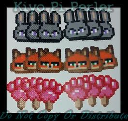 Zootopia Minis! (Original Pattern)