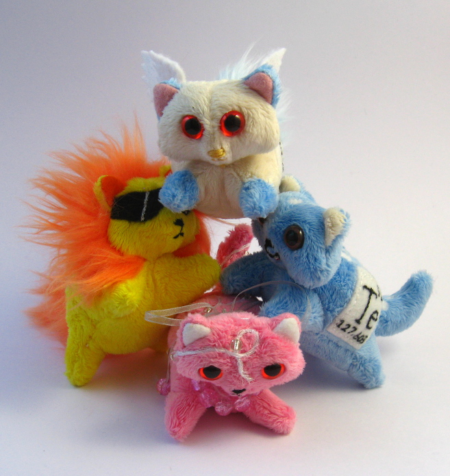 Elemental Cats: batch 4