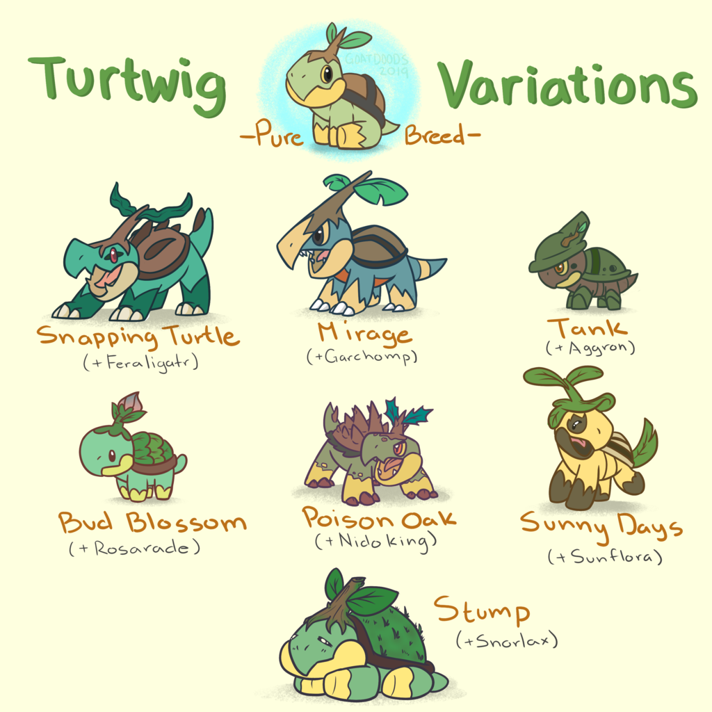 Turtwig Variations