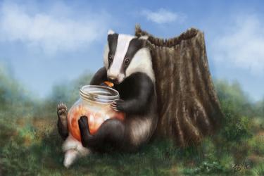 Marmalade Badger