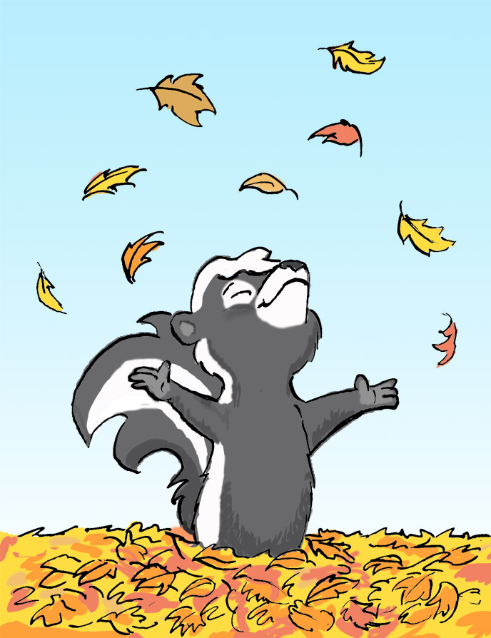 Autumn Skunk