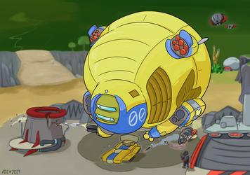 Is It A Tank MKII or Is It A Blimp MK II