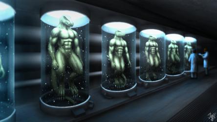 Lizardman laboratory