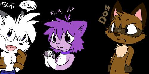 Kaittycat - Badges