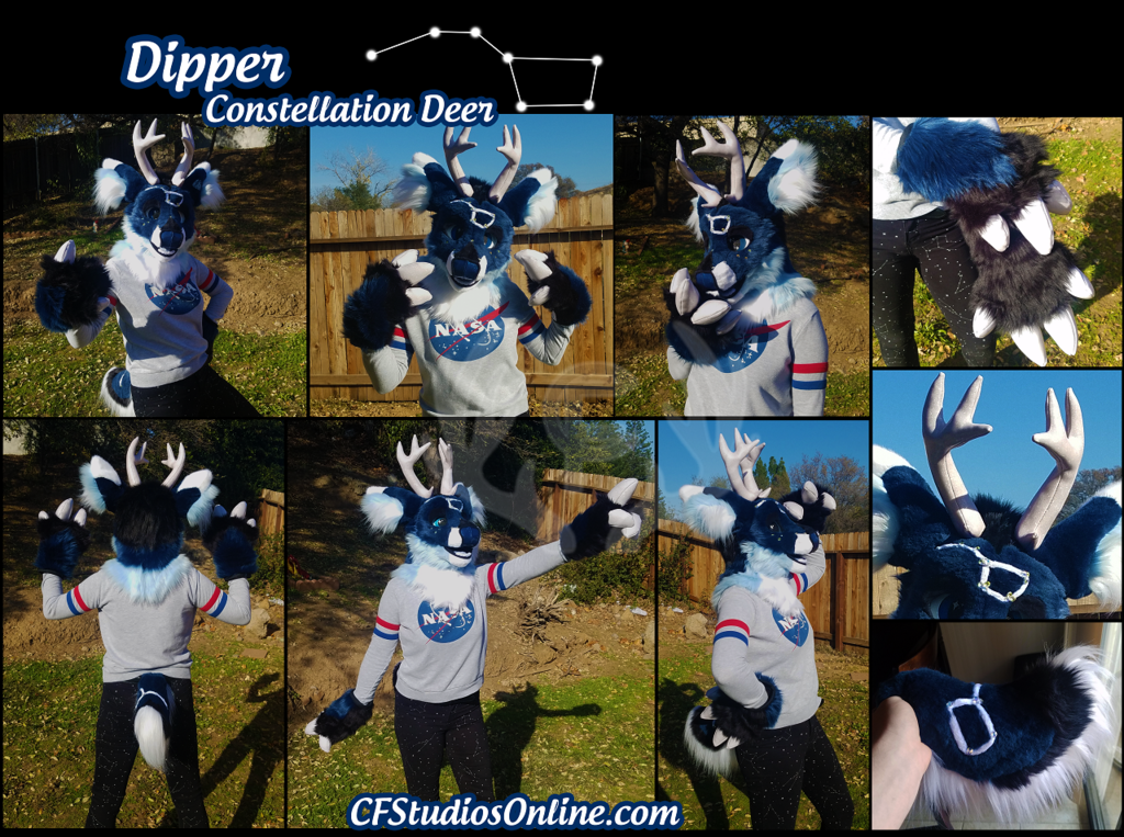 Most recent image: Constellation Deer Partial Auction!