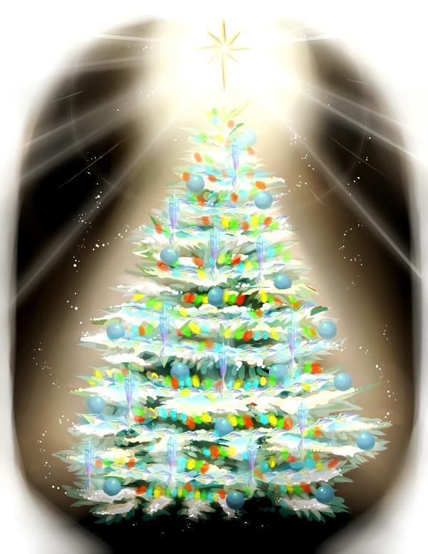 Featured image: Grandma's most sparkliest tree