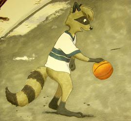 Late Winter Basket Shooting