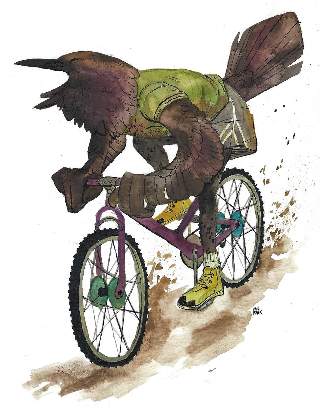 Busy Birds 3 - Raven