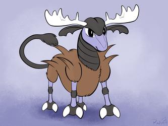 Poketober: Beta deer