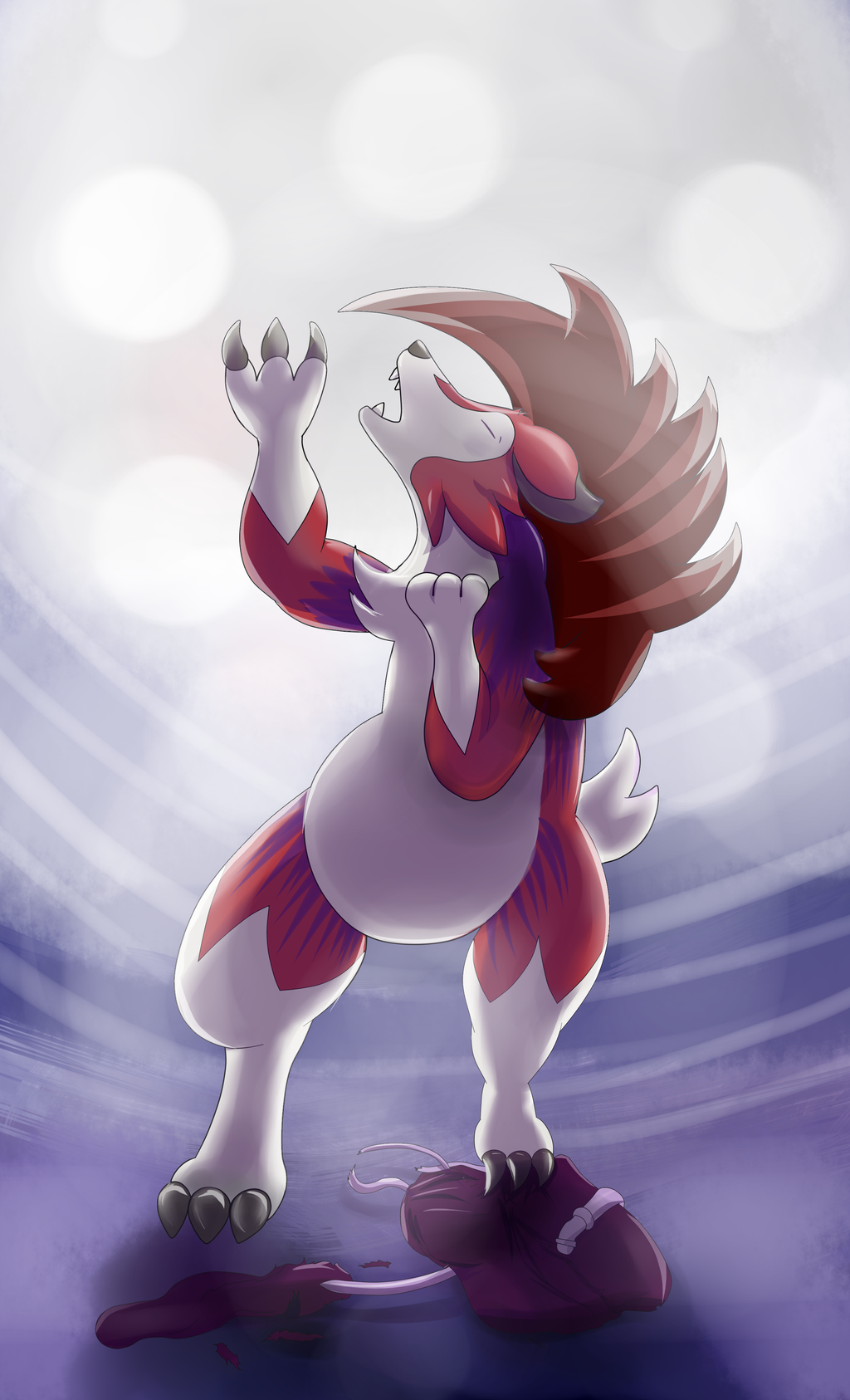Alolan Midnight, Lycanroc Transformation Part 2 /2
