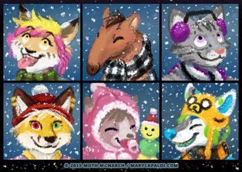 Winter Avatars 4