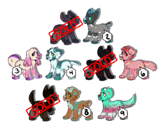 Little Canine Adopts 6/9 [[OPEN]]