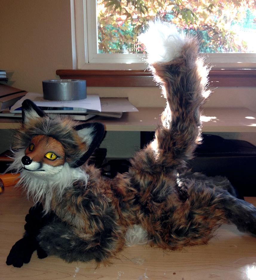 Red Fox OOAK Art Doll