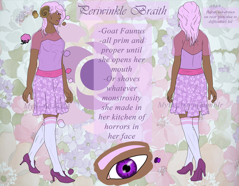 Most recent image: RWBY OC - Periwinkle Braith