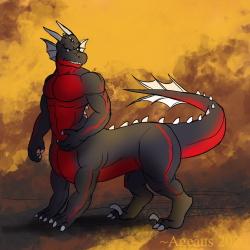 Dragontaur by Ageaus
