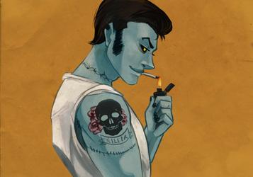 I like zombie greasers