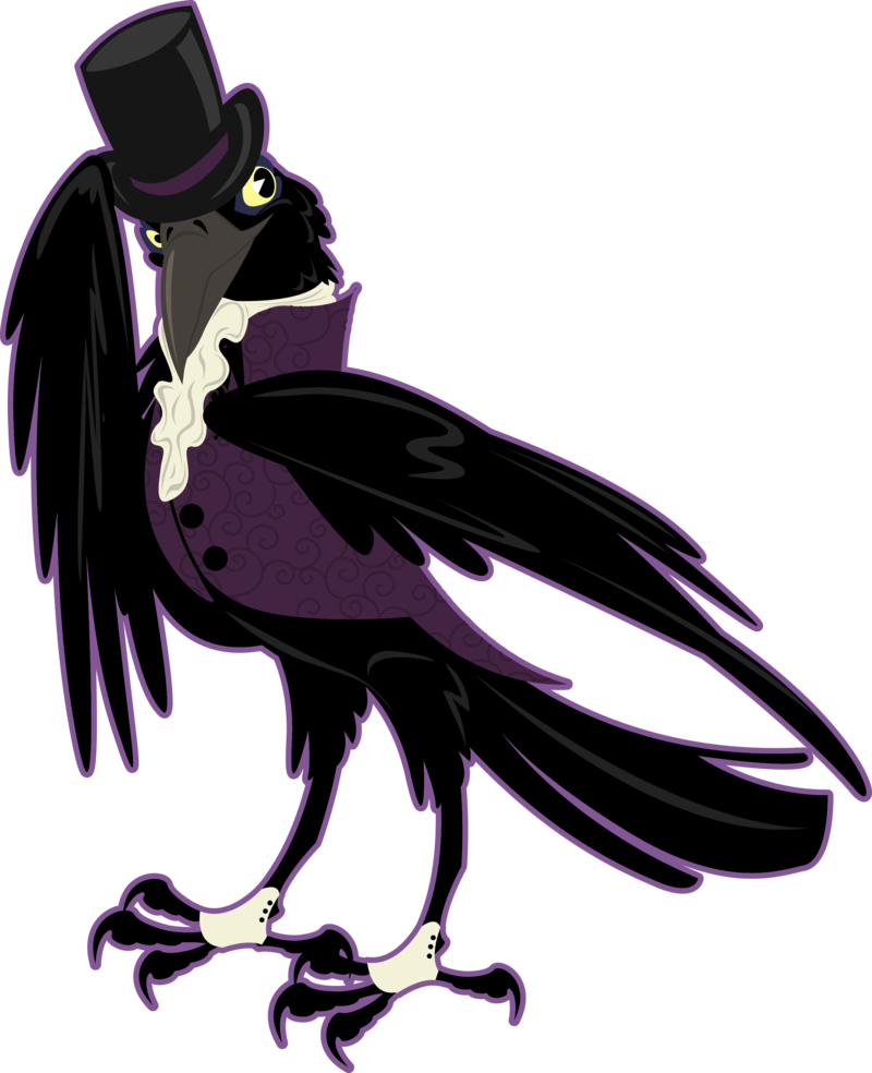 Most recent image: Said the Crow to His Lover