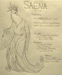 SAENA SIMURGH Character Sheet
