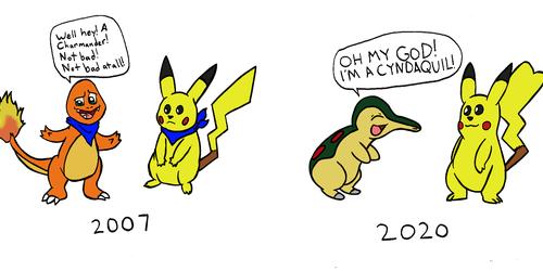 Pokemon Mystery Dungeon - Avatar Reactions