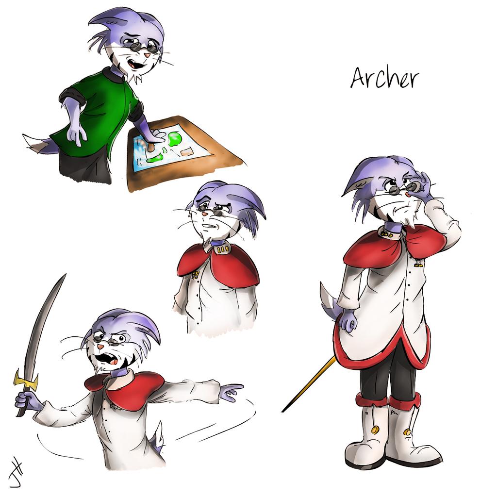 Archer Sullivan Color Concept