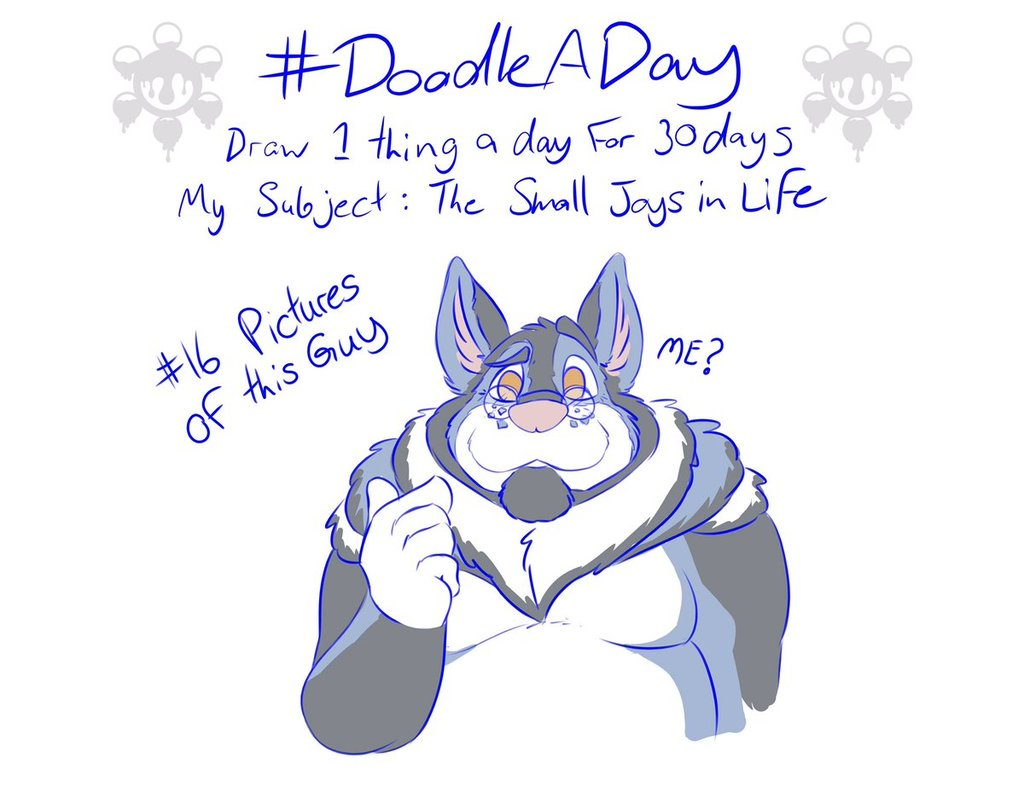 [Doodle A Day] Day 16