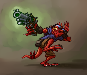 Kobold with Gun #1,456