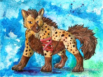Proud hyena