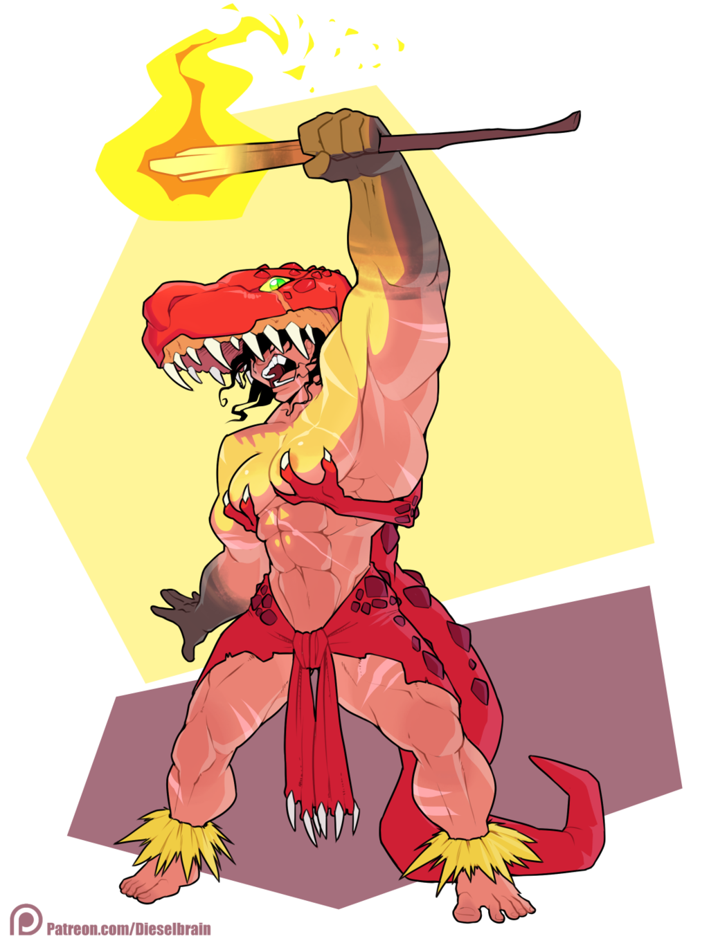 Most recent image: Dinosaur Witch