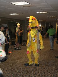 FWA 2012 - Day 2 - Fursuit Parade - Drama Llama
