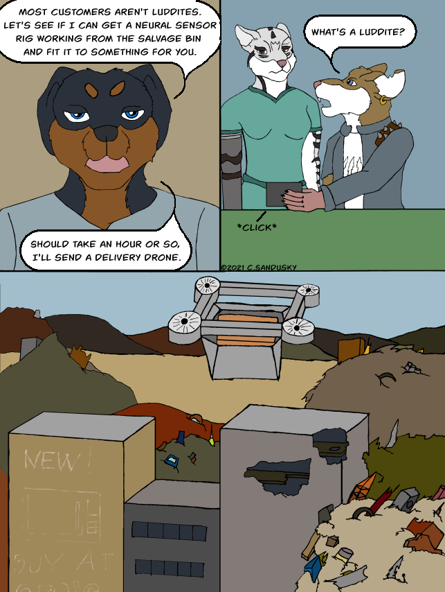 Not What I Was - Page 102