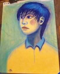 Chalk Pastel Portrait
