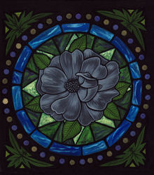 True Lead Rose Window