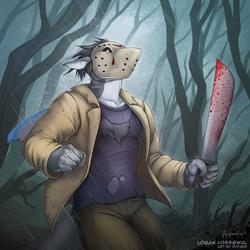 "Halloween Commission ""Jason Voorhees"""