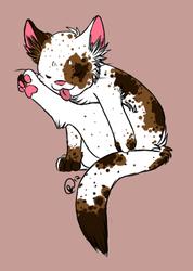 KITTEH (By bee/maskedpuppy)