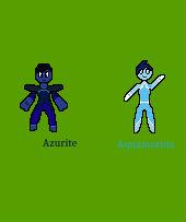 Two Blue Gems