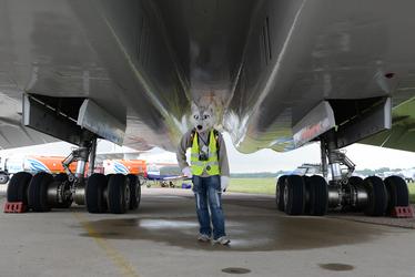MAKS-2013 Tupolev Tu-144 engines