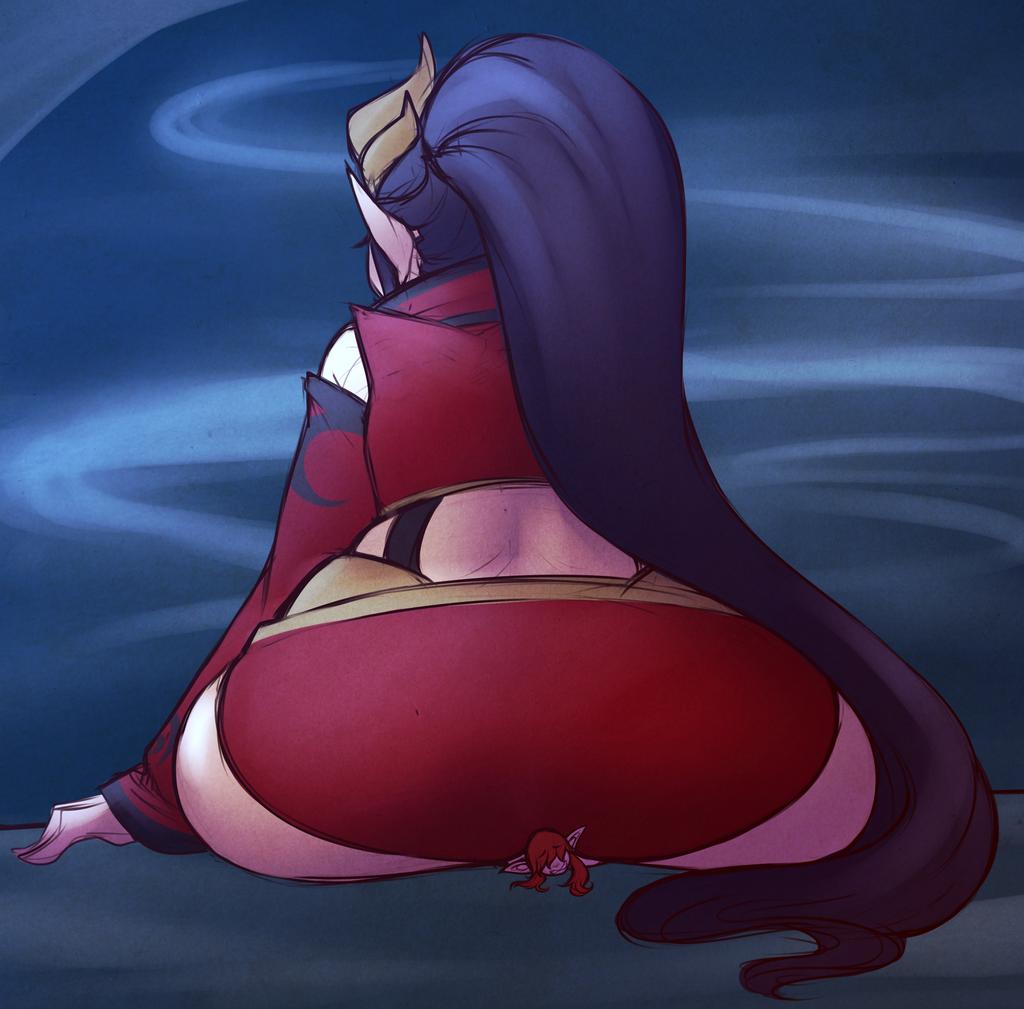 Sorceress Butt [Commission]