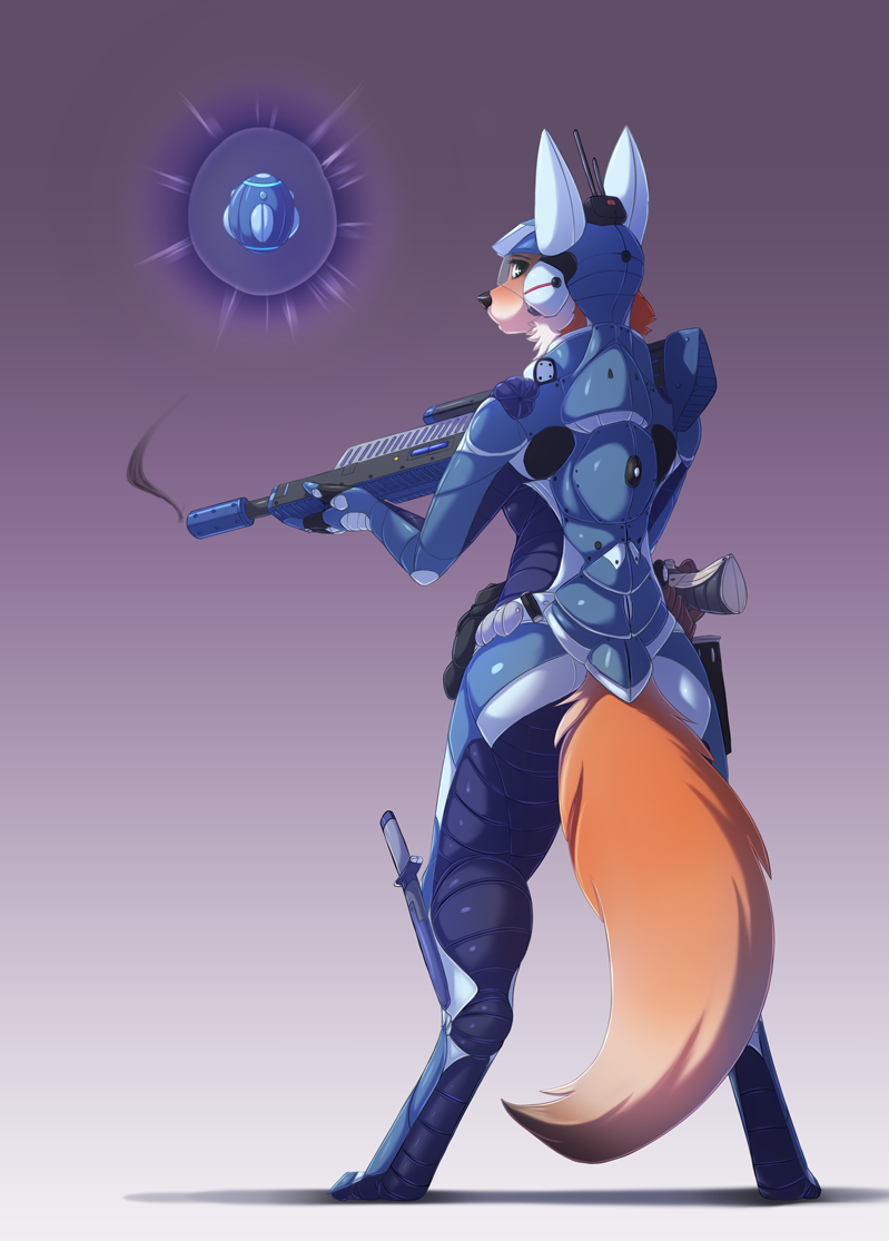 Featured image: Space Vixen