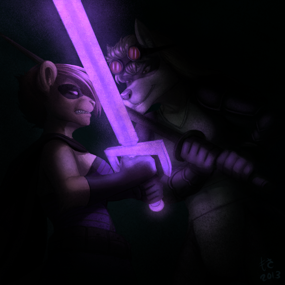 Featured image: [COMM] A Light in the Dark