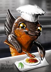 30min Speedpaint- Fish Chef