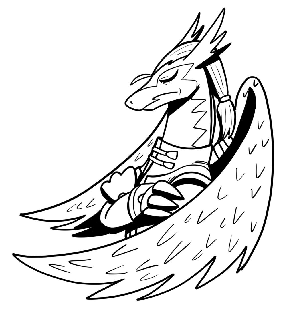 Inktober #2 - Ranshiin