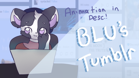 [Animation Meme] Blu's Tumblr