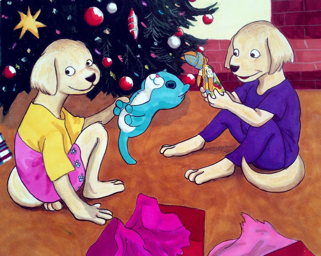 Maria and Juanita on Christmas Eve