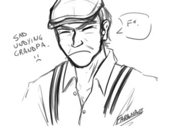 Ajin Doodle - Sad Grandpa