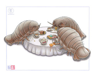 Isopod Tea Party