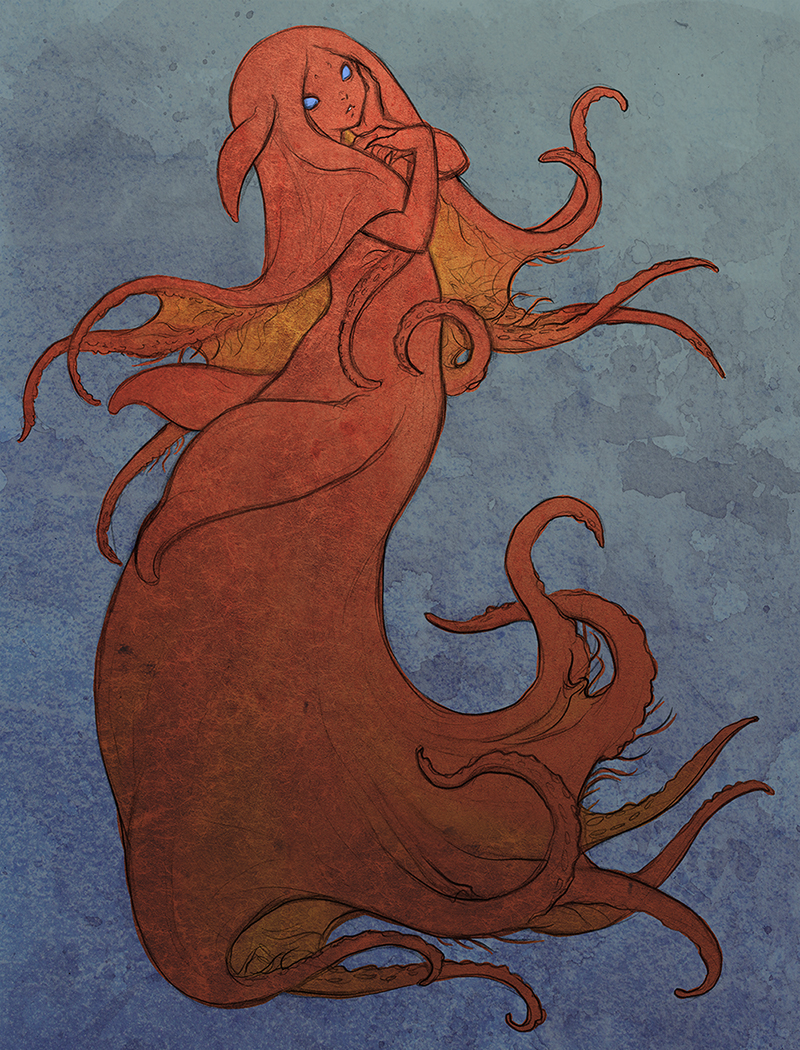 Octomaid - Vampire Squid Girl