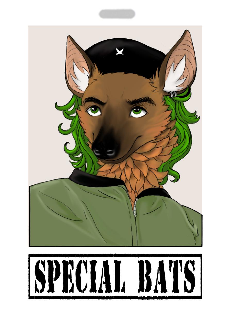 Special Bats Con Badge